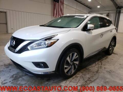 2015 Nissan Murano for sale at East Coast Auto Source Inc. in Bedford VA