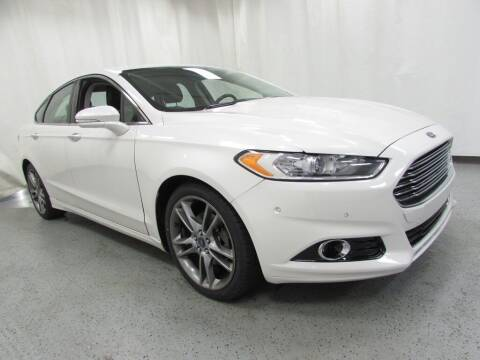 2013 Ford Fusion for sale at MATTHEWS HARGREAVES CHEVROLET in Royal Oak MI