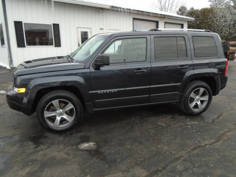 2016 Jeep Patriot for sale at NORTHLAND AUTO SALES in Dale WI