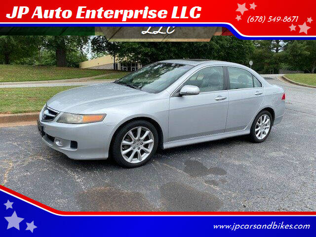 2008 Acura TSX for sale at JP Auto Enterprise LLC in Duluth GA