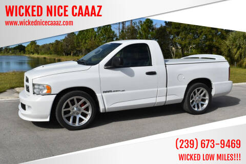 2005 Dodge Ram Pickup 1500 SRT-10 for sale at WICKED NICE CAAAZ in Cape Coral FL