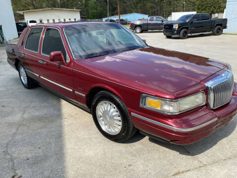 1996 Lincoln Town Car for sale at Elite Motor Brokers in Austell GA