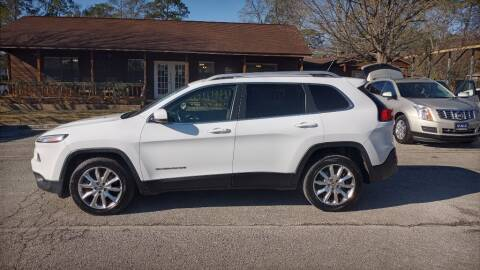 2014 Jeep Cherokee for sale at Victory Motor Company in Conroe TX