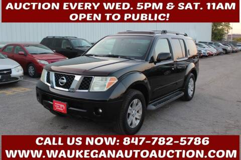 2007 Nissan Pathfinder for sale at Waukegan Auto Auction in Waukegan IL
