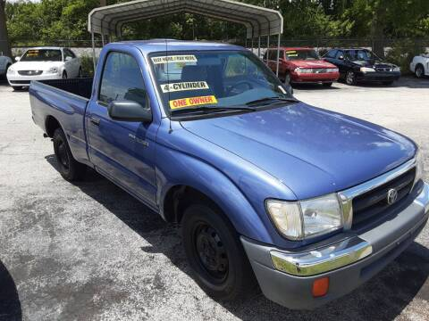 2000 Toyota Tacoma for sale at Easy Credit Auto Sales in Cocoa FL