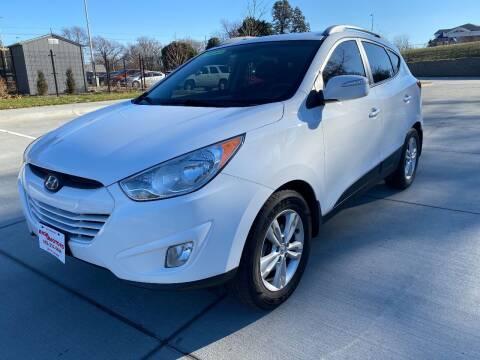 2013 Hyundai Tucson for sale at BIG O MOTORS LLC in Omaha NE