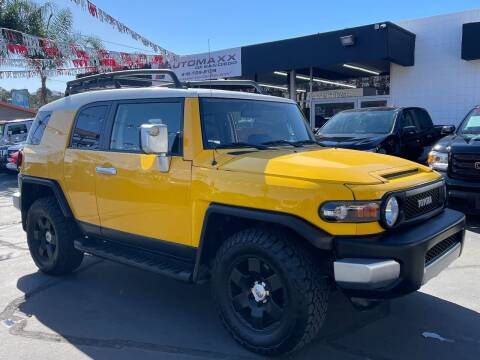 2007 Toyota FJ Cruiser for sale at Automaxx Of San Diego in Spring Valley CA
