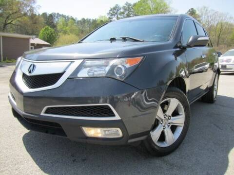 2013 Acura MDX for sale at Atlanta Luxury Motors Inc. in Buford GA