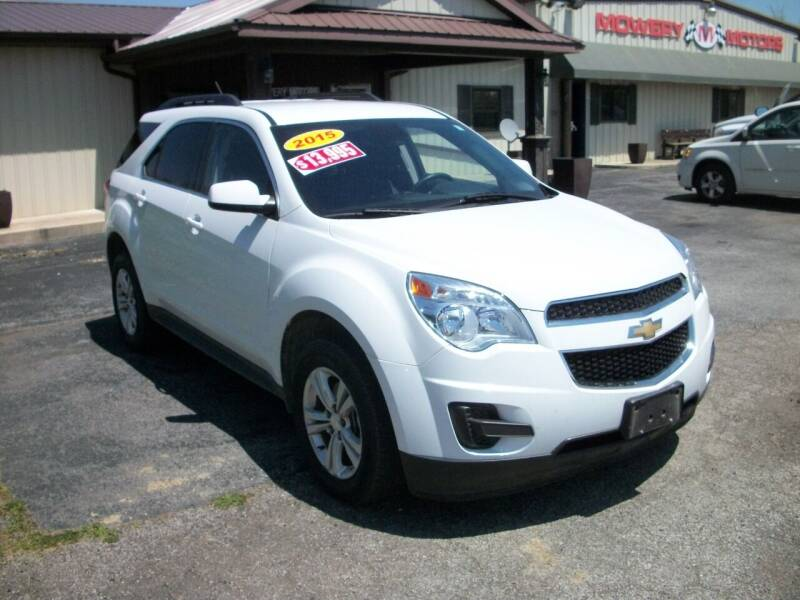 2015 Chevrolet Equinox for sale at Terry Mowery Chrysler Jeep Dodge in Edison OH