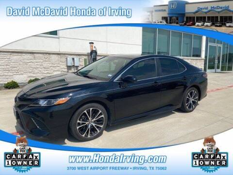2019 Toyota Camry for sale at DAVID McDAVID HONDA OF IRVING in Irving TX