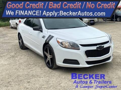 2015 Chevrolet Malibu for sale at Becker Autos & Trailers in Beloit KS