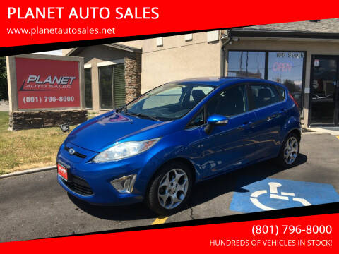 2011 Ford Fiesta for sale at PLANET AUTO SALES in Lindon UT