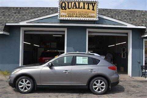 2008 Infiniti EX35 for sale at Quality Pre-Owned Automotive in Cuba MO