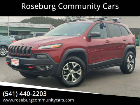 2015 Jeep Cherokee for sale at Roseburg Community Cars in Roseburg OR