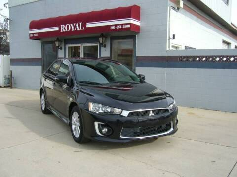 2016 Mitsubishi Lancer for sale at Royal Auto Inc in Murray UT