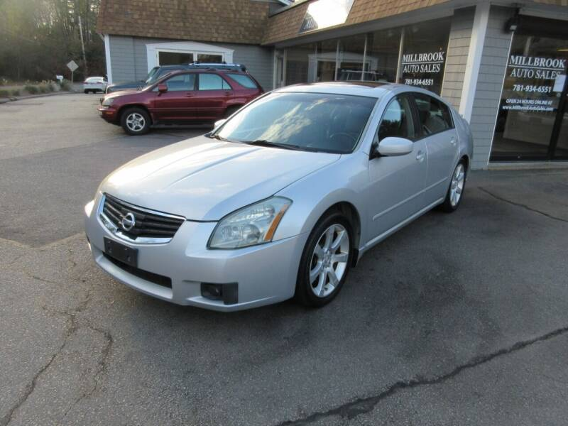 2007 Nissan Maxima for sale at Millbrook Auto Sales in Duxbury MA