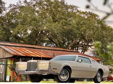 1972 Lincoln Continental for sale at OVE Car Trader Corp in Tampa FL