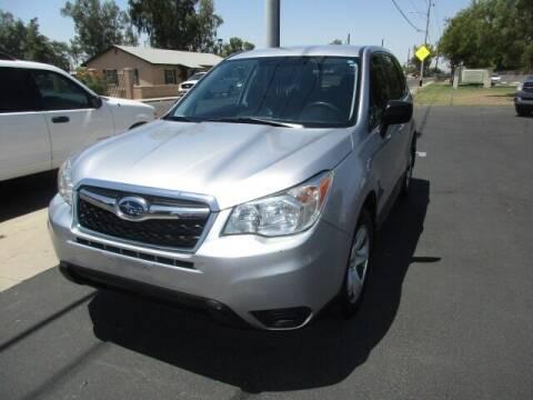 2014 Subaru Forester for sale at DORAMO AUTO RESALE in Glendale AZ