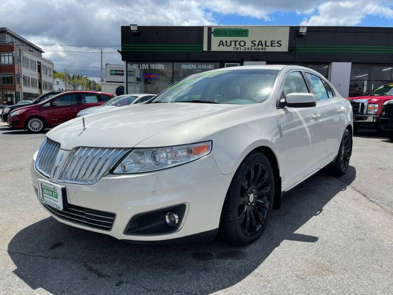 2009 Lincoln MKS for sale at Wakefield Auto Sales of Main Street Inc. in Wakefield MA