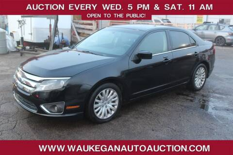 2011 Ford Fusion Hybrid for sale at Waukegan Auto Auction in Waukegan IL