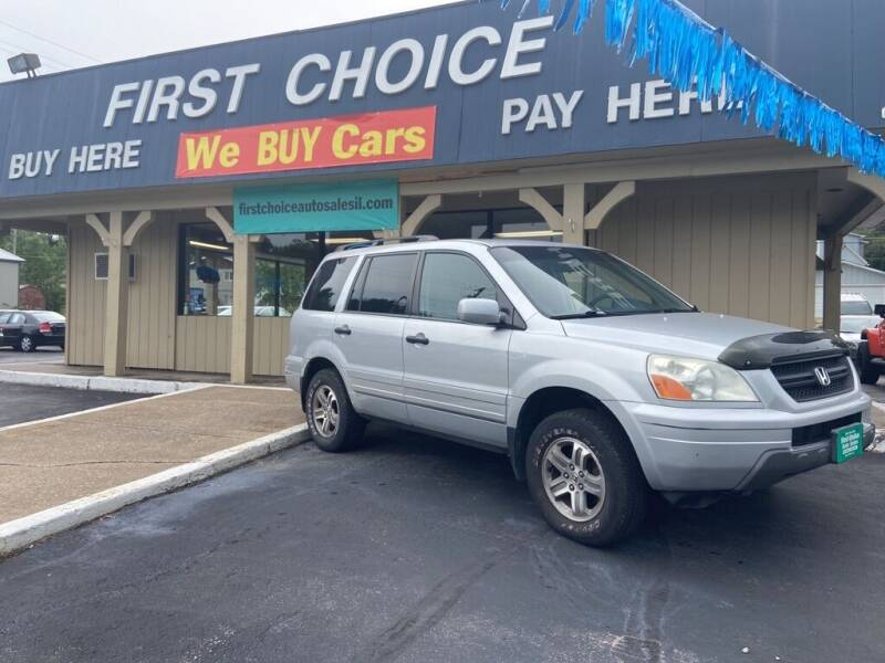 2003 Honda Pilot for sale at First Choice Auto Sales in Rock Island IL