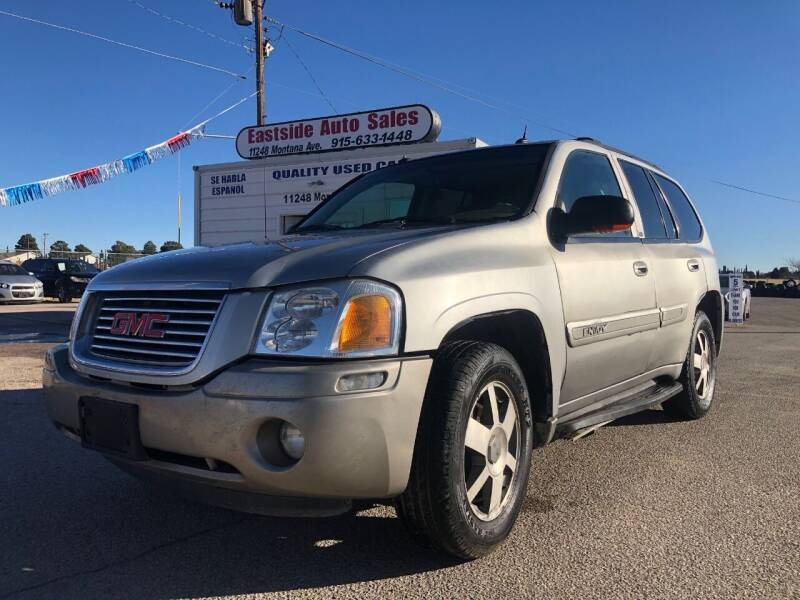 2004 GMC Envoy for sale at Eastside Auto Sales in El Paso TX