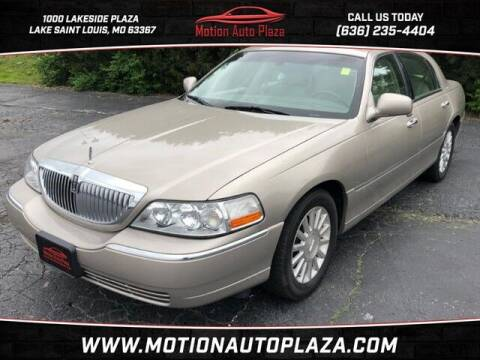 2003 Lincoln Town Car for sale at Motion Auto Plaza in Lakeside MO