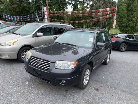 2008 Subaru Forester for sale at Harrisburg Auto Center Inc. in Harrisburg PA