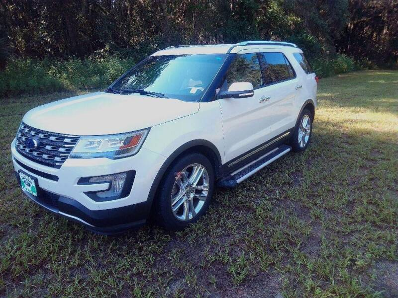 2016 Ford Explorer for sale at TIMBERLAND FORD in Perry FL