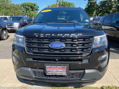 2016 Ford Explorer for sale at Nasa Auto Group LLC in Passaic NJ