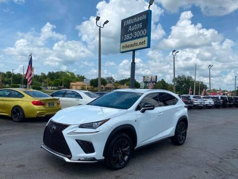 2018 Lexus NX 300 for sale at Michaels Autos in Orlando FL
