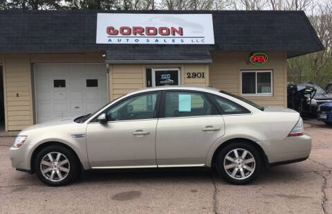 2009 Ford Taurus for sale at Gordon Auto Sales LLC in Sioux City IA