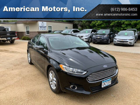 2014 Ford Fusion for sale at American Motors, Inc. in Farmington MN