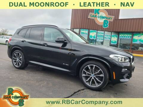 2018 BMW X3 for sale at R & B Car Co in Warsaw IN