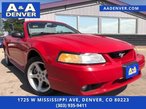 1999 Ford Mustang SVT Cobra for sale at A & A AUTO LLC in Denver CO