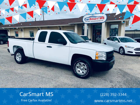 2012 Chevrolet Silverado 1500 for sale at CarSmart MS in Diberville MS