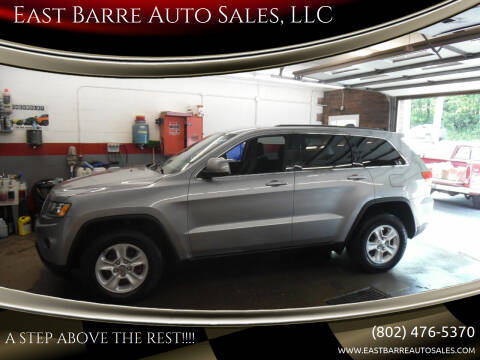 2016 Jeep Grand Cherokee for sale at East Barre Auto Sales, LLC in East Barre VT