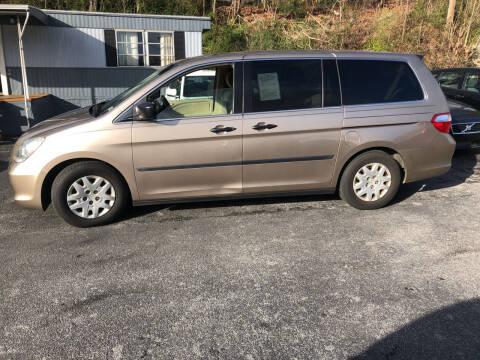 2006 Honda Odyssey for sale at J & J Autoville Inc. in Roanoke VA