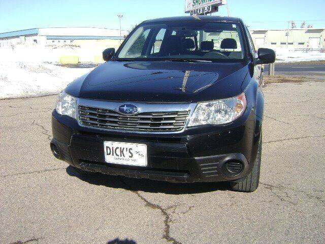 2009 Subaru Forester for sale at DICKS AUTO SALES in Marshfield WI
