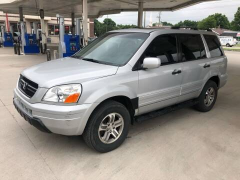 2003 Honda Pilot for sale at JE Auto Sales LLC in Indianapolis IN