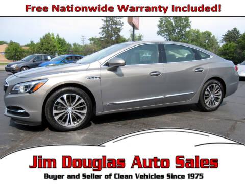 2017 Buick LaCrosse for sale at Jim Douglas Auto Sales in Pontiac MI