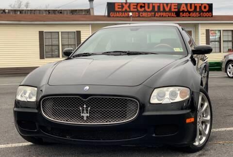 2007 Maserati Quattroporte for sale at Executive Auto in Winchester VA