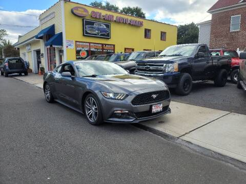 2015 Ford Mustang for sale at Bel Air Auto Sales in Milford CT