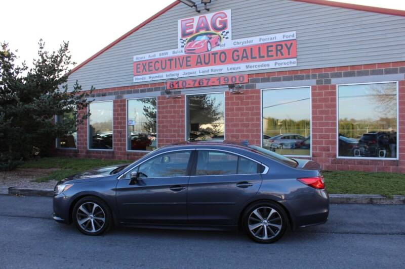 2016 Subaru Legacy for sale at EXECUTIVE AUTO GALLERY INC in Walnutport PA