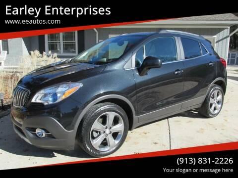 2013 Buick Encore for sale at Earley Enterprises in Overland Park KS