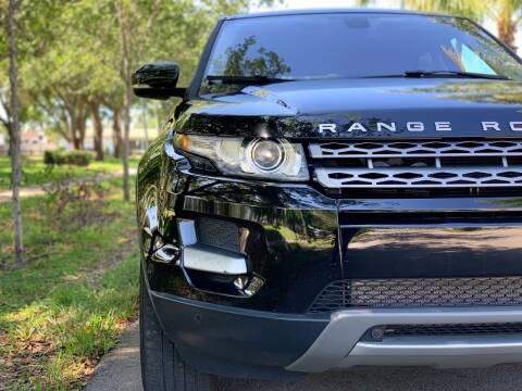 2013 Land Rover Range Rover Evoque for sale at HIGH PERFORMANCE MOTORS in Hollywood FL
