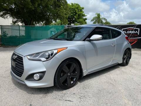 2015 Hyundai Veloster for sale at Florida Automobile Outlet in Miami FL