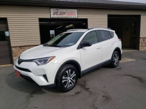2018 Toyota RAV4 for sale at Ulsh Auto Sales Inc. in Summit Station PA