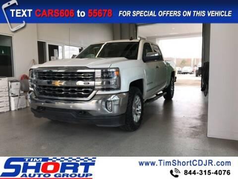 2018 Chevrolet Silverado 1500 for sale at Tim Short Chrysler in Morehead KY