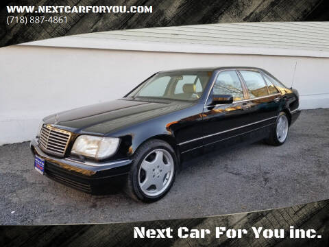 1997 Mercedes-Benz S-Class for sale at Next Car For You inc. in Brooklyn NY
